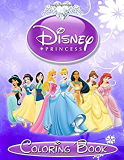 Pretty Princesses Coloring Book Disney Princess Color Fun