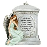 Roman 48476 8.5' Inch Height Memorial Urn Forever with the Angels