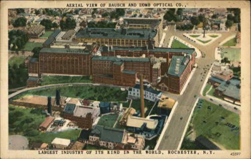 Aerial View of Bausch and Lomb Optical Co Rochester, New York Original Vintage ()