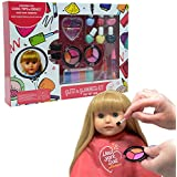 The New York Doll Collection Washable Makeup set for Dolls and Kids - pretend play Cosmetic Set
