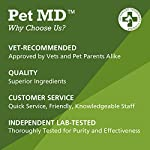 Pet MD - Dog Ear Cleaner Wipes - Otic Cleanser for Dogs to Stop Itching, Yeast and Mites with Aloe and Eucalyptus - 100 Count 12