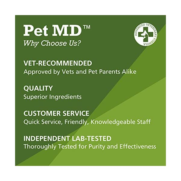 Pet MD - Dog Ear Cleaner Wipes - Otic Cleanser for Dogs to Stop Itching, Yeast and Mites with Aloe and Eucalyptus - 100 Count 5