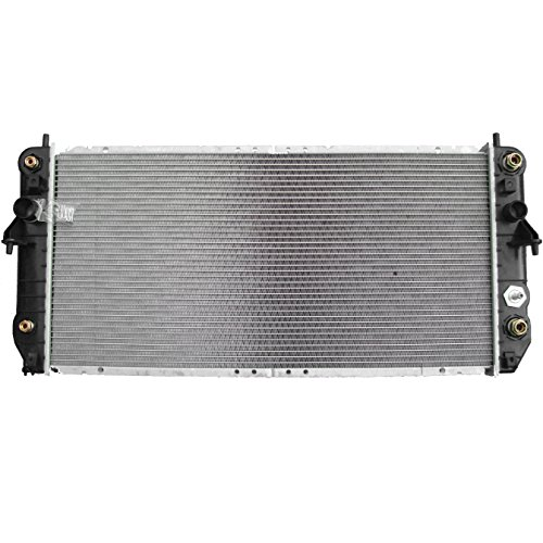 ECCPP New Aluminum Radiator 2369 fits for 2000 Cadillac DeVille DTS V8 4,6L 1-1/4 In Thickness with warranty (New Radiator Cadillac Deville)