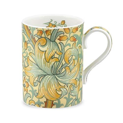 Golden Slate - Royal Worcester Morris & Co. Golden Lily Slate/Manilla Mug