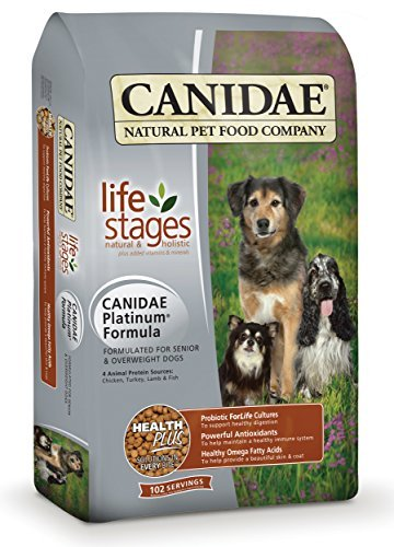 CANIDAE All Life Stages Platinum Dog Food Made With Chicken, Turkey, Lamb & Fish Meals, 5 lbs by CANIDAE