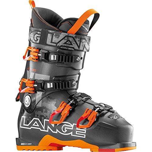 Lange XT 100 Ski Boot Men's Anthracite/Orange 27.5