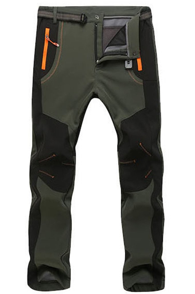 Micosuza Hiking Trousers Men Waterproof Zip Off Walking Long Length Pants Breathable Lightweight Micosuza.Inc