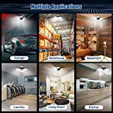 LED Garage Lights 6000 Lm Flexed LED Beyond