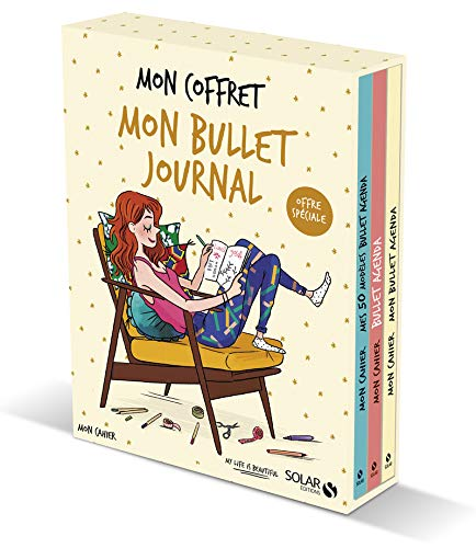 Coffret Mon cahier Bullet agenda Coffret produits – 18 octobre 2018 PoWa Isabelle MAROGER Solar 2263155872