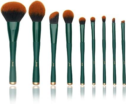 Jessup Set de Brochas de Maquillaje , Brocha para Sombras de Ojos Brochas de Sombra de Ojos Brochas Sintéticas Brochas de Maquillaje en T268: Amazon.es: Belleza