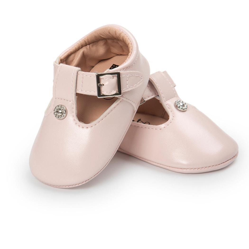 K-youth/® Primeros Zapatos para Caminar La Princesa del beb/é Sola Suave Calza Las Zapatillas de Deporte del ni/ño Zapatos Ocasionales Zapatos De Beb/é