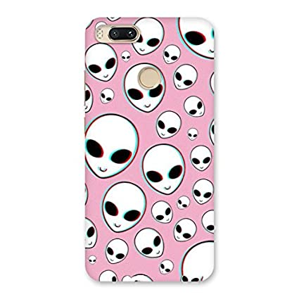 Big Eye Skull Back Case Cover for Xiaomi MI A1: Amazon in