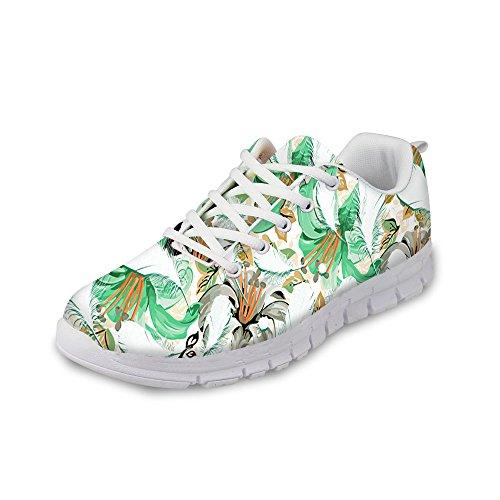Voor Jou Ontwerpen Damesmode Sneakers Relax Lichtgewicht Mesh Ademende Loopschoenen Wit 2