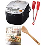 zojirushi rice cake maker - Zojirushi Micom Rice Cooker & Warmer (NL-BAC05) + Free Cookbook, Stir Fry Spatula and Nylon Flipper Tongs