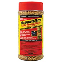 Summit Chemical Mosquito Bits is specially designed to provide optimal environmentally sound biological mosquito control. The quick acting formula kills mosquito larvae within 24 hours. EPA registered in all 50 states for safe, convenient use...