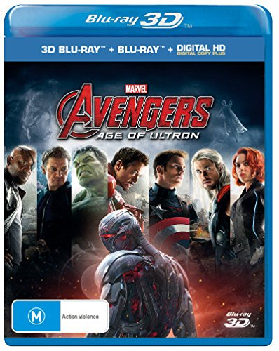 Avengers - Age of Ultron [3D Blu-ray + Blu-ray + Digital Copy] [Import - Australia]