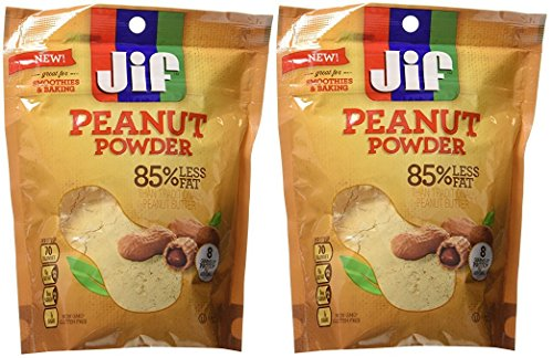 Jif Peanut Powder, 6.5 Ounce (Pack of Two)
