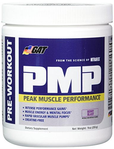 GAT Pmp Nutritional Supplement, Berry Blast, 9 Ounce For Sale