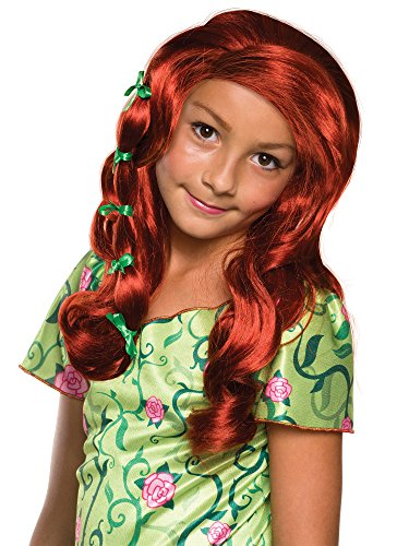 Rubie's Costume Girls DC Super Hero Poison Ivy Wig]()