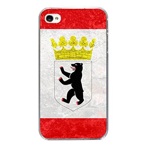 """Disagu Design Case Schutzhülle für Apple iPhone 4s Hülle Cover - Motiv """"Berlin"""""""