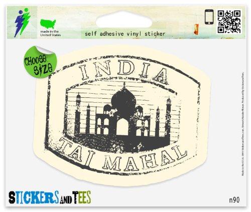 Mahal Tee (Indian Taj Mahal Travel Car Sticker Indoor Outdoor 4