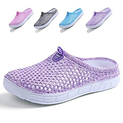 LIGHTEN Garden Clogs Shoes Womens Mens Mesh Quick Drying Slippers Beach Sandals
