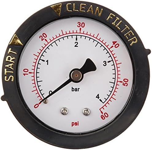 Pool Filter Pressure Gauge Premium Spa//Pool//Aquarium Water Pressure Gauge USA