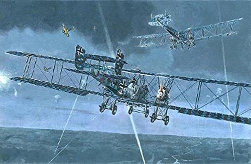 GOTHA G.VA, G.VB GERMAN BOMBER AIRCRAFT WWI 1/72 RODEN 020