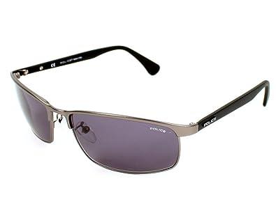 Amazon.com: Police anteojos de sol S metal 8646 0627 ...