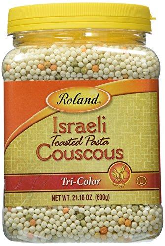 Israeli Couscous, Tri-color (21.16oz) by Roland