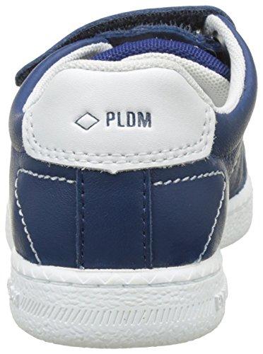 PLDM by Palladium Master Nca, Baskets Basses Mixte Enfant Bleu (Bluette)
