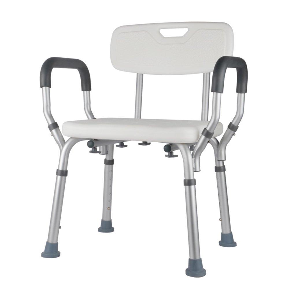 【35%OFF】 高齢者バスルームのバスチェア/身体障害者のバスチェア/妊婦のシャワーのスツール B07DVDKH7K/アルミ合金の滑り止めバスルームのバスシート/6高さの調整 B07DVDKH7K, 快適LIFE:b324fa8c --- martinemoeykens.com