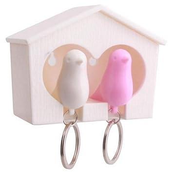 travet amante Sparrow casa llavero pájaro Nido forma llavero ...
