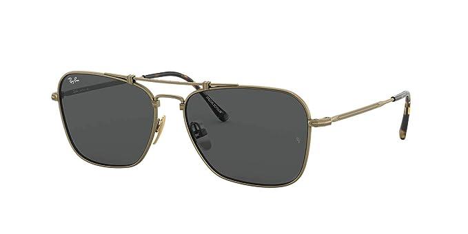 Amazon.com: Ray-Ban RB8136 58 - Gafas de sol para hombre y ...