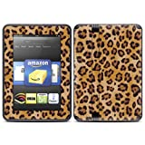 "Kindle Fire HD (fits 7"" only) Skin Kit/Decal - Leopard Spots"