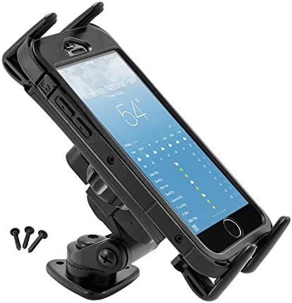 ARKON SM628 SLIM-GRIP ULTRA 1 MULTI-ANGLE ADHESIVE OR SCREW DASHBOARD OR CONSOLE MOUNT FOR SMARTPHONES /& 7 OR 8 TABLETS