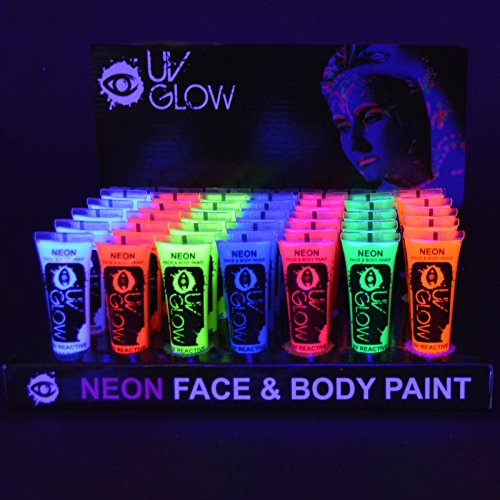 uv-glow-blacklight-neon-face-and-body-paint-034oz-case-of-24