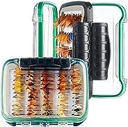 64/100/120PCS Fly Fishing Flies Trout,Dry Flies, Wet Flies, Streamer, Nymph, Emerger , Assorted Fly Fishing Lu