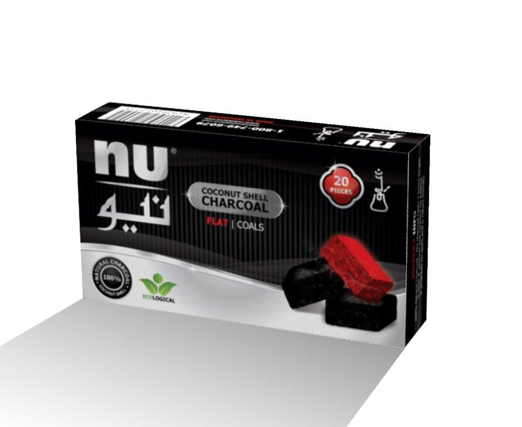 NU FLAT Coals - 20pcs