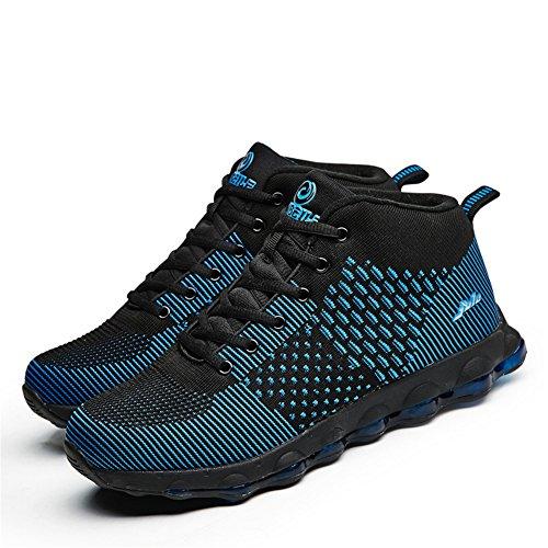 Hooh Scarpe Da Corsa Outdoor Professionale Impermeabile Assorbimento Degli Urti Scarpe Da Passeggio Per Uomo Donna Blu