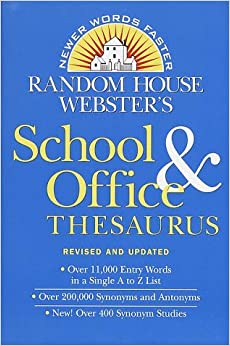 Random House Webster's School & Office Thesaurus