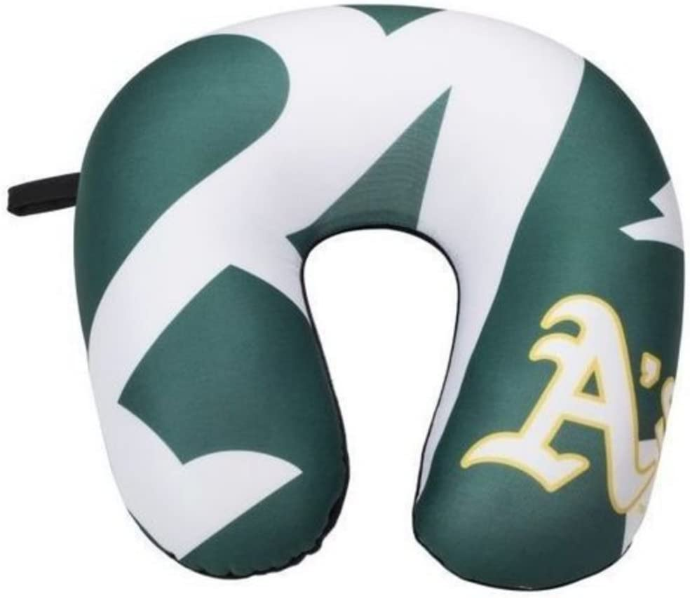 Multi Color 13 x 12 Officially Licensed NCAA Sandman Neck Pillow