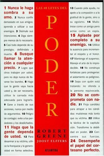 Las 48 Leyes del Poder (Spanish Edition) by Atlantida Publishing