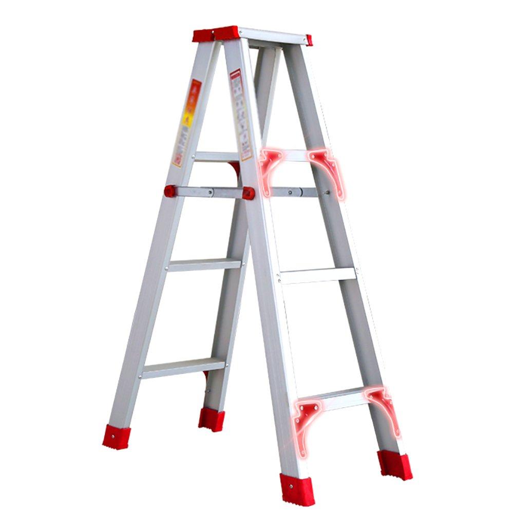 YXX- アルミニウム折りたたみ梯子家庭用折り畳み式ステップスツール大人用ヘビーデューティー折りたたみ踏み台アンチスリップステップスツール (サイズ さいず : 58*36*74cm) B07F25BNW5 58*36*74cm58*36*74cm