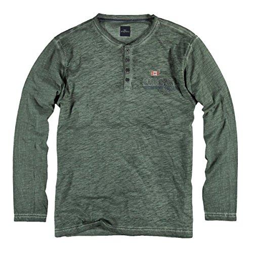engbers Herren Henley Shirt, 22329, Türkis