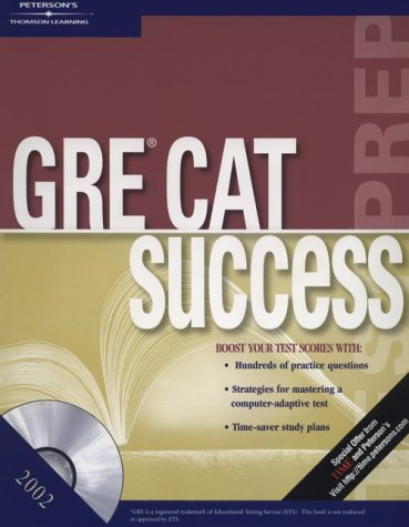 GRE Success w/CDRom 2002 (Peterson's Ultimate GRE Tool Kit)