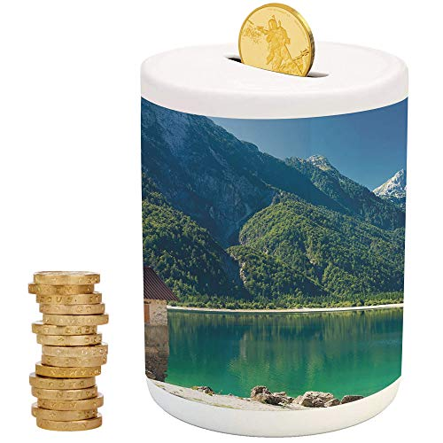 iPrint Italy,Kids Boys and Girls Money Bank,Christmas Birthday Gifts for Kids Boys Girls Home Decoration,Predil Alpine Lake North Italy Slovenian Border Julian Alps Idyllic Scenery Decorative]()