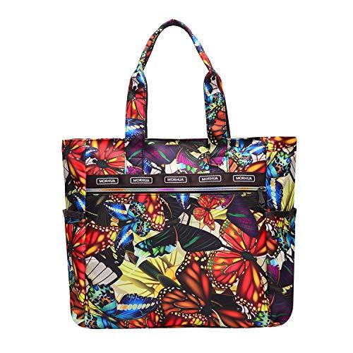 Shoulder Bags Tote Bag Handbag Waterproof Large Lightweight Travel Totes Gym Totes for Gym Hiking Picnic Travel Beach