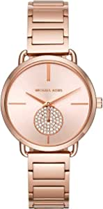 ساعة انالوج كاجوال للنساء من مايكل كورس، ستانلس ستيل - MK3640