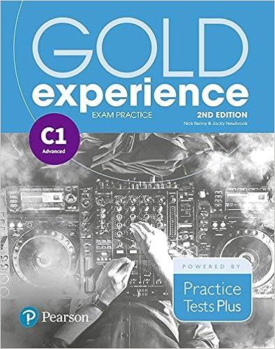 Descargar Epub Gratis Gold Experience 2nd Edition Exam Practice: Cambridge English Advanced